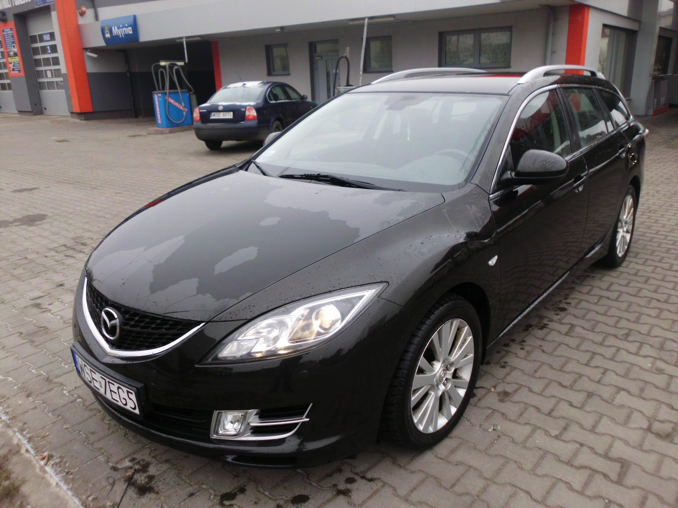 mazda 6 ii 2008 diesel 140km kombi czarny opinie i ceny. Black Bedroom Furniture Sets. Home Design Ideas