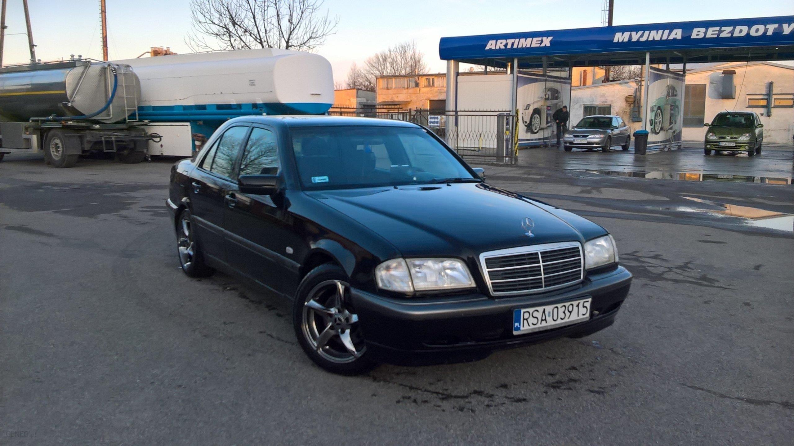 Mercedes Benz Klasa C W202 1998 Benzyna 170km Sedan Czarny Opinie