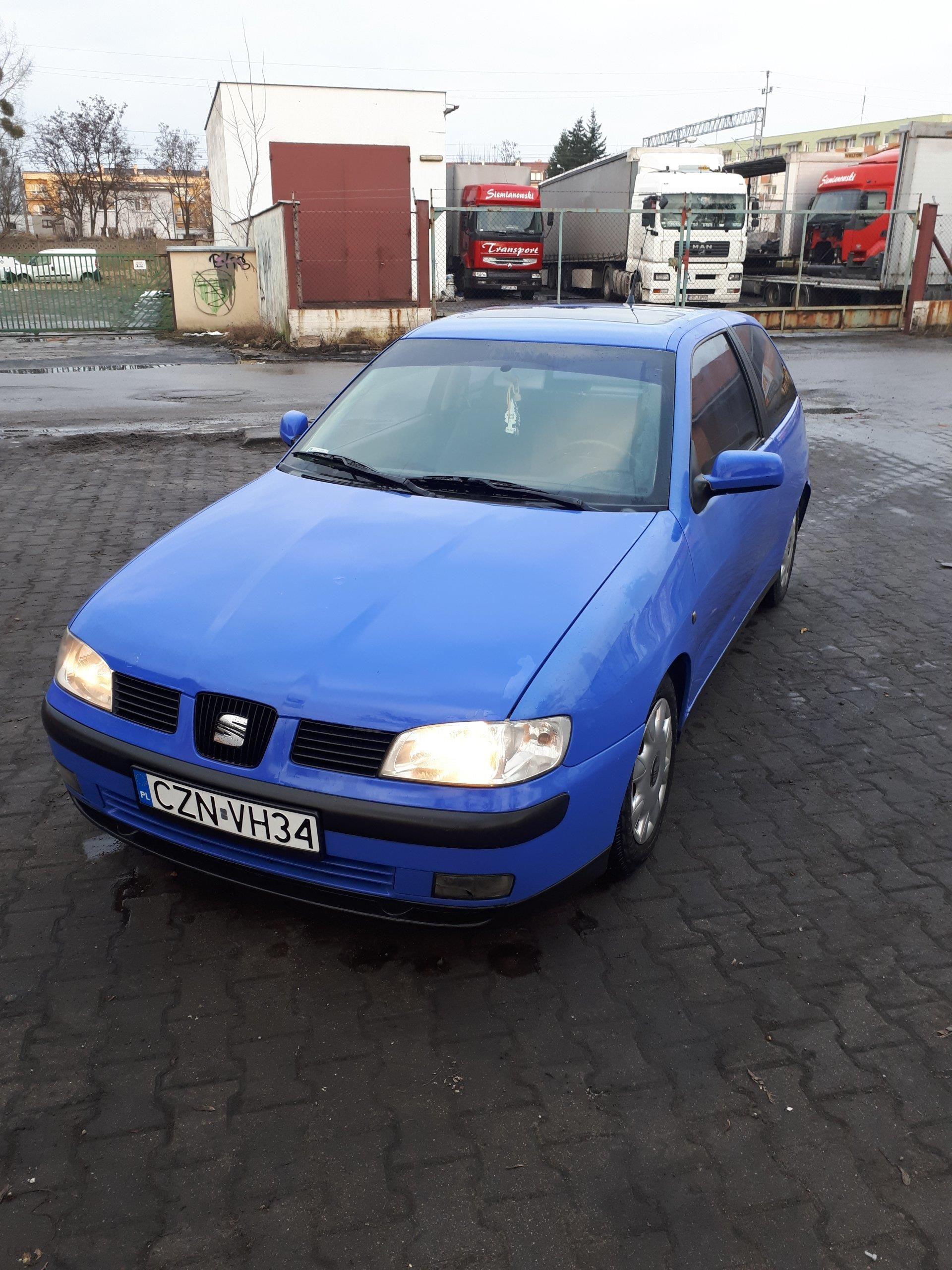 Chwalebne Seat Ibiza II FL 2001 60KM niebieski - Opinie i ceny na Ceneo.pl NM29