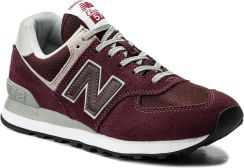 Sneakersy NEW BALANCE - ML574EGB Bordowy