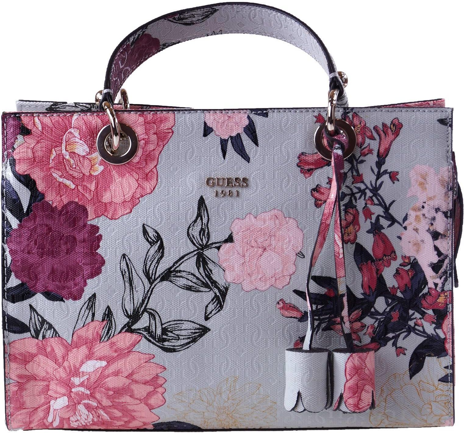1ab5f1d37e1f6 Torebka Guess Floral Seraphina - Ceny i opinie - Ceneo.pl