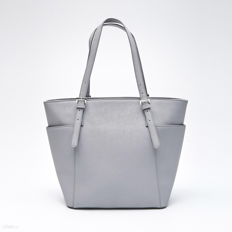 20f85929511bf Cropp - Duża torba typu shopper - Jasny szary - Ceny i opinie - Ceneo.pl