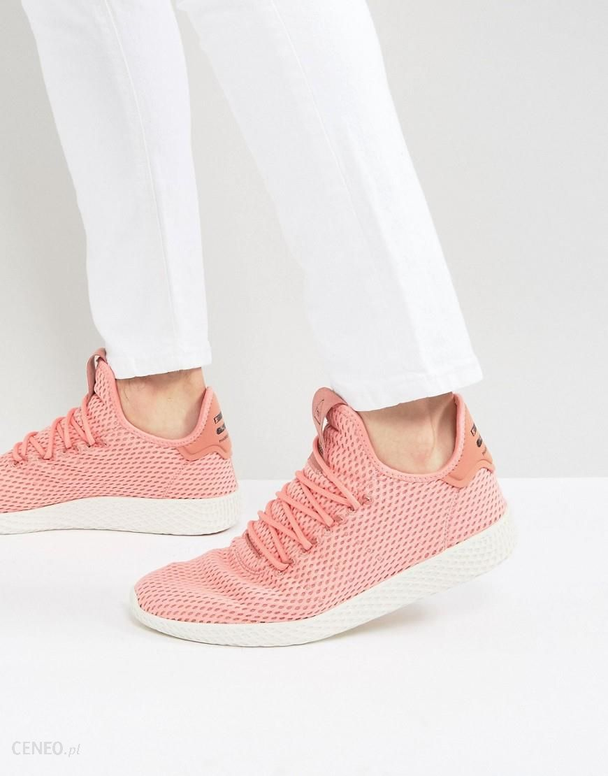 Adidas Originals x Pharrell Williams Tennis HU Trainers In Pink BY8715 Pink Ceneo.pl