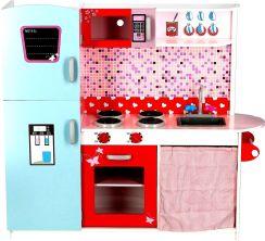 Zabawka Wooden Toys Drewniana Kuchnia Dla Dzieci Deluxe