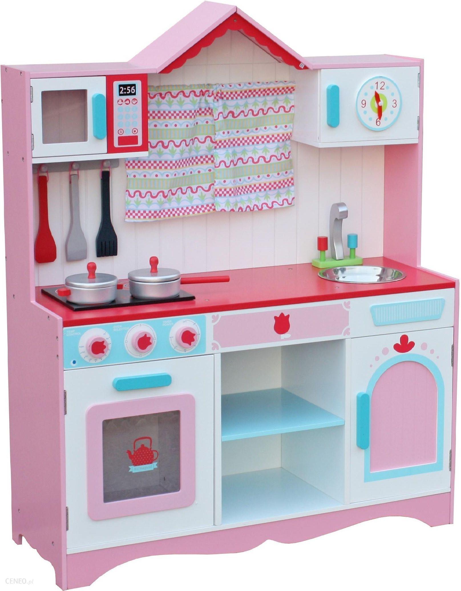 Wooden Toys Drewniana Duza Kuchnia Dla Dzieci Contry2 C172 Ceny I