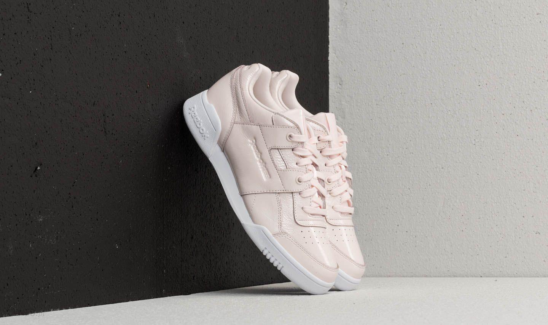 29cc930186581e Reebok Workout Lo Plus Iridescent Pale Pink  White - zdjęcie 1