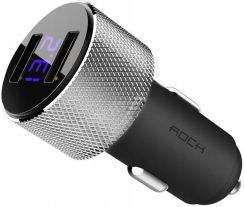 Rock 2x USB Sitor 3,4A LED (713)