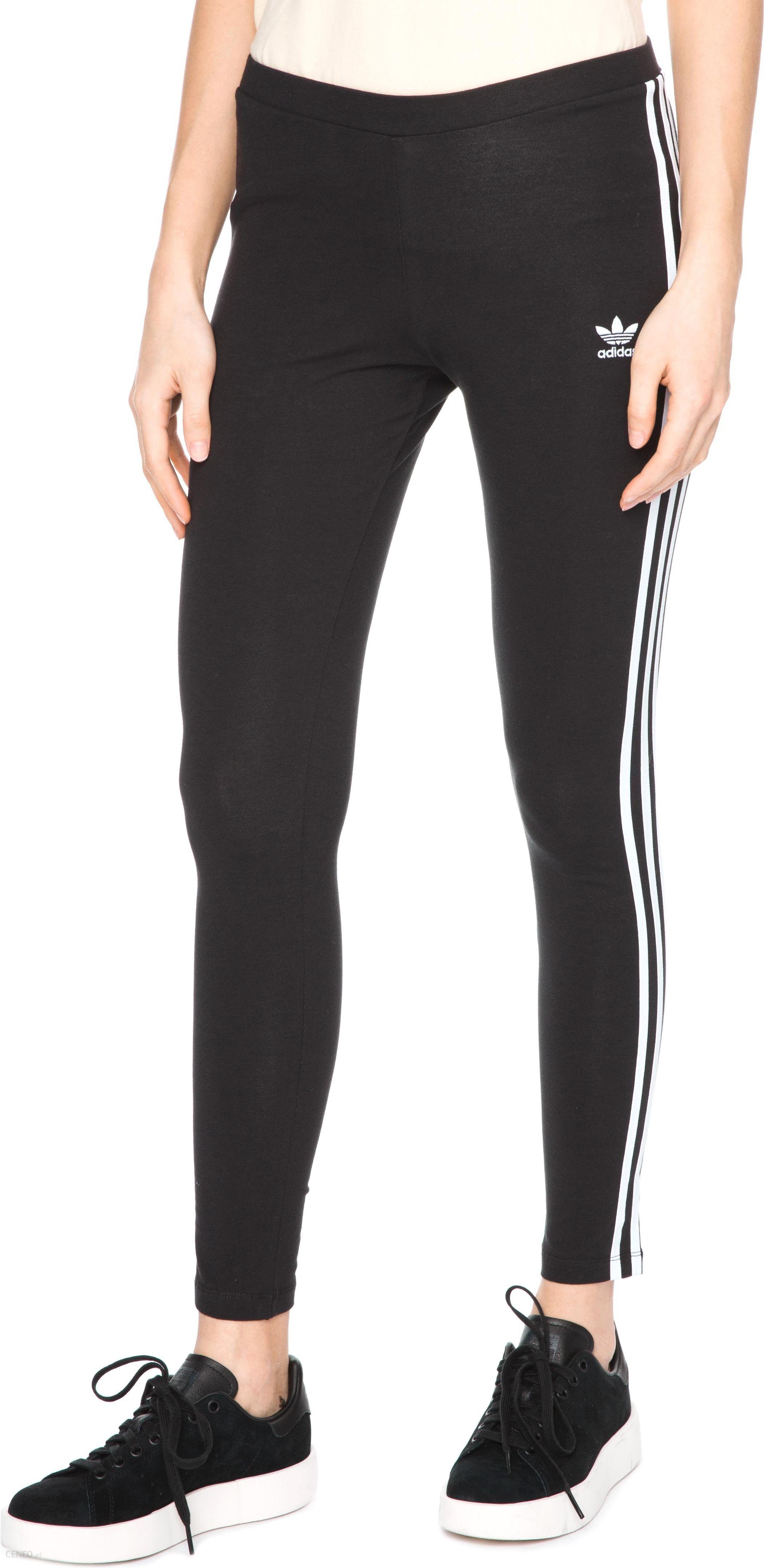 Adidas Originals 3 Stripes Legginsy Czarny 38 Ceny i opinie Ceneo.pl