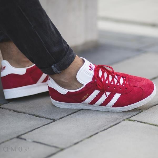 14c38b21 Buty męskie sneakersy adidas Originals Gazelle BB5486 - BORDOWY || CZARNY  || CZERWONY -