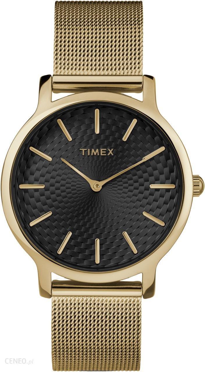 e30f519bb7c98 Timex Metropolitan Gold Tw2R36104 - Zegarki - Ceny i opinie - Ceneo.pl