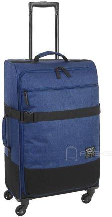4e80b06d2e735 CAT Caterpillar 1904 Originals Denim Blue 2018 średnia walizka Allegro