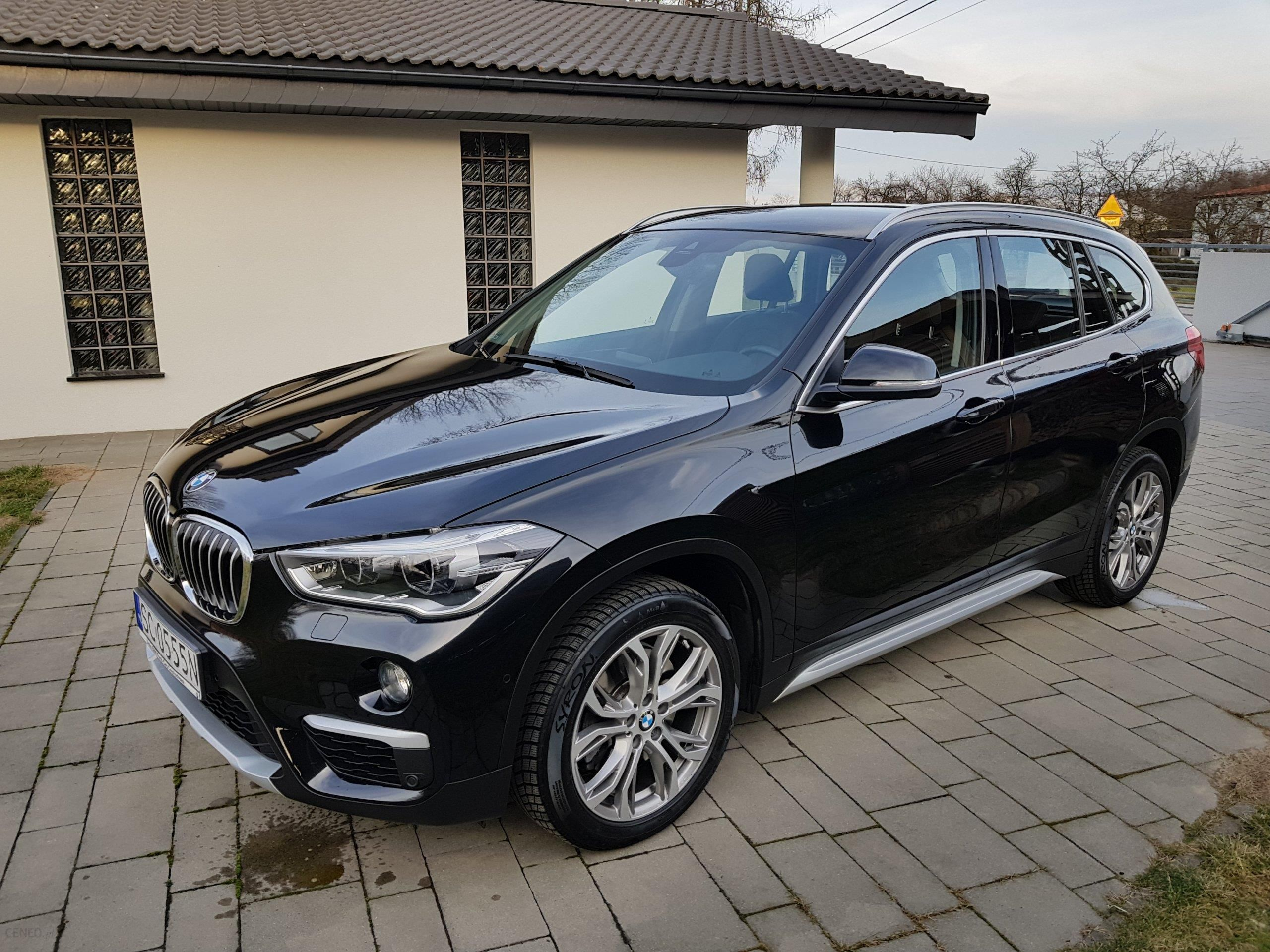 bmw x1 f48 2015 diesel 190km suv czarny opinie i ceny na. Black Bedroom Furniture Sets. Home Design Ideas
