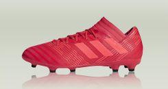 91f23e9ee Adidas Nemeziz 17.3 Firm Ground Boots Red CP8987 - Ceny i opinie ...