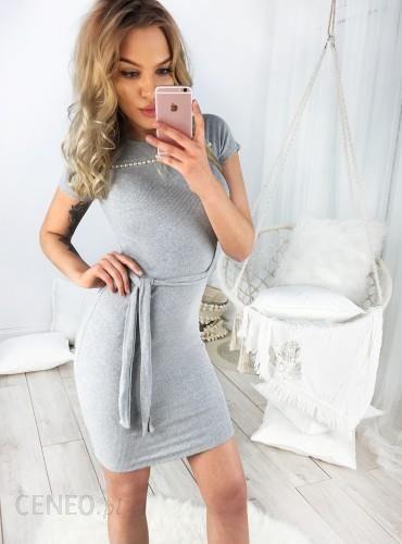 e78f6313fc SELFIEROOM Sukienka KESIA - szara - Ceny i opinie - Ceneo.pl