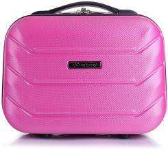 cdc6b8c3126f4 SUMATRA Kuferek na kosmetyki - kosmetyczka podróżna Pullman - --Różowy