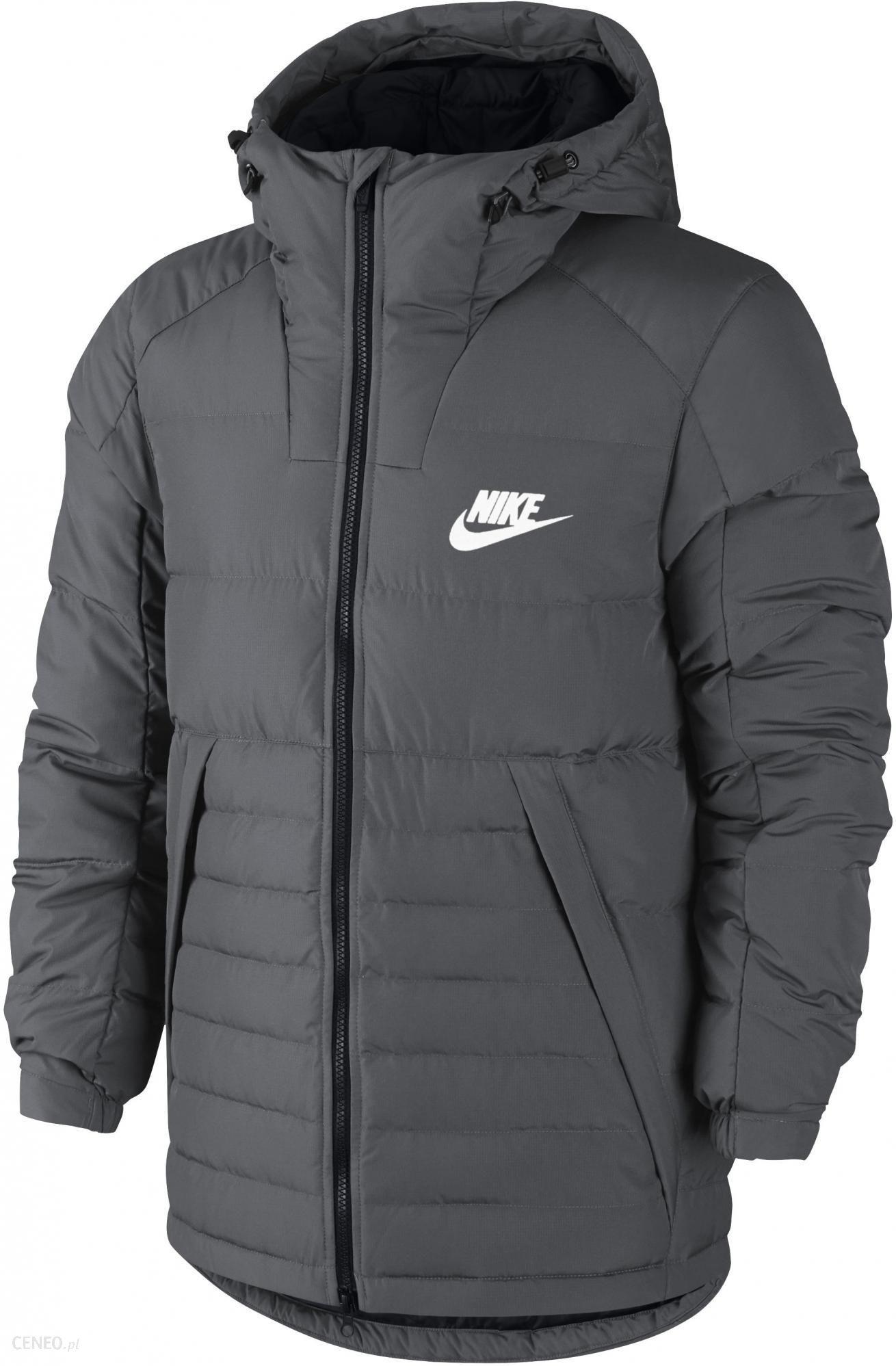 Nike kurtka M NSW DOWN FILL HD JACKET Grey L Ceny i opinie Ceneo.pl