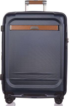 795e99a698b6 Titan Prior zestaw walizek   duża   średnia   walizka - Dark Black ...
