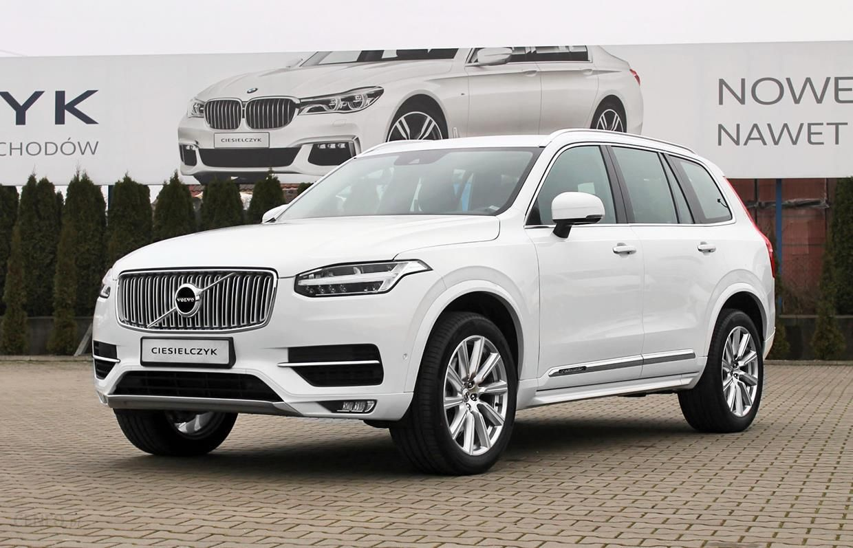 volvo xc 90 ii 2017 diesel 235km suv bia y opinie i ceny. Black Bedroom Furniture Sets. Home Design Ideas