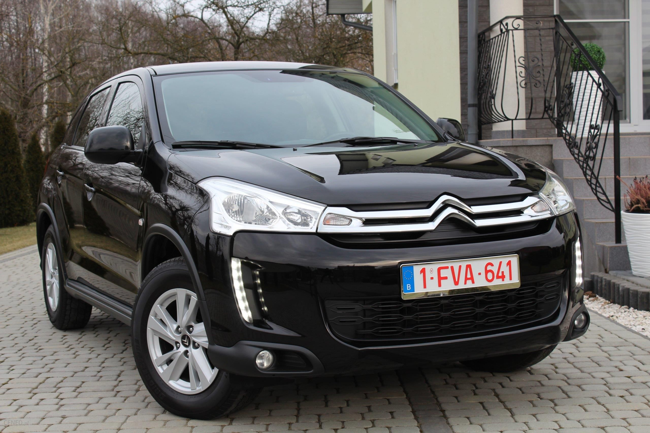 citroen c4 aircross 2013 diesel 115km suv czarny opinie i ceny na. Black Bedroom Furniture Sets. Home Design Ideas
