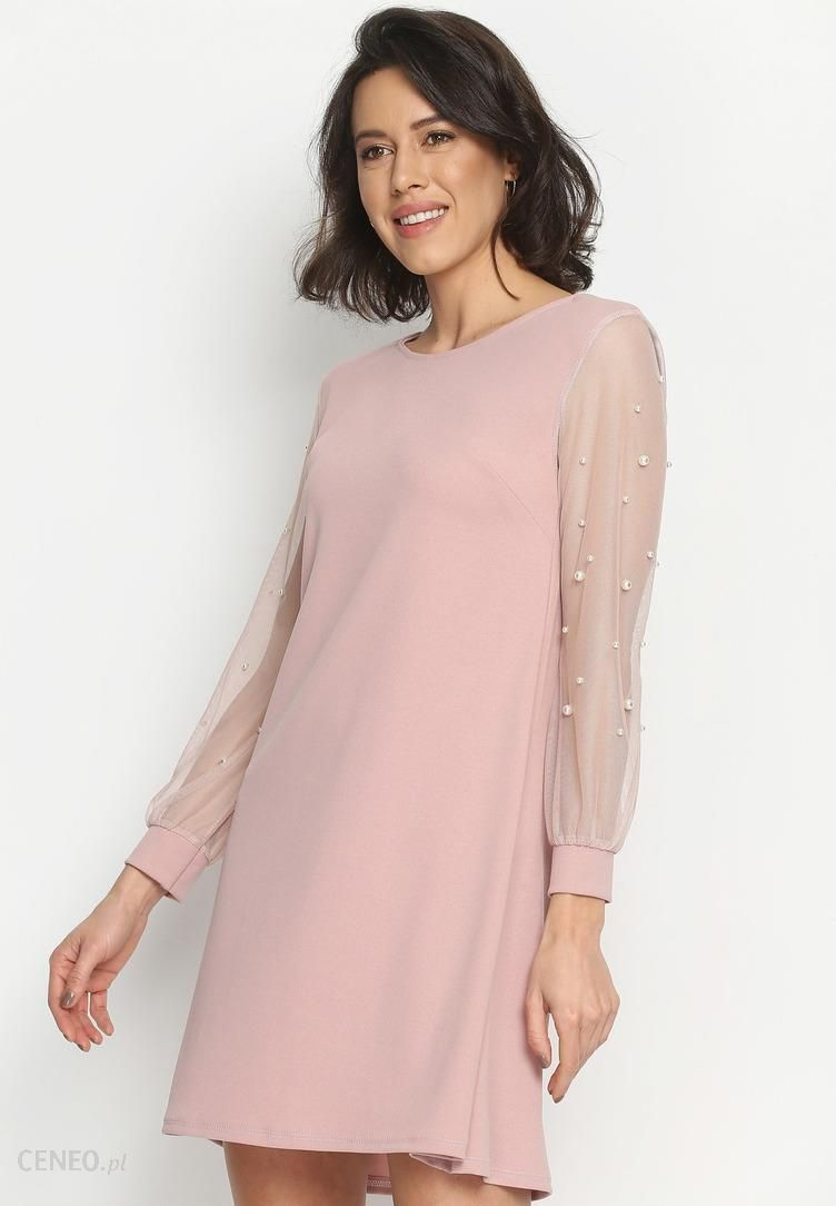 0dfd537a2d Renee Różowa Sukienka Little Elements - Ceny i opinie - Ceneo.pl