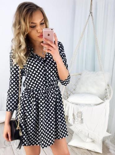 5f10021afc SELFIEROOM Sukienka CLOVER - czarna - Ceny i opinie - Ceneo.pl