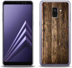 44091a16457e Etuo Samsung Galaxy A8 Plus (2018) Foto Case Drewniane Deski - zdjęcie 1