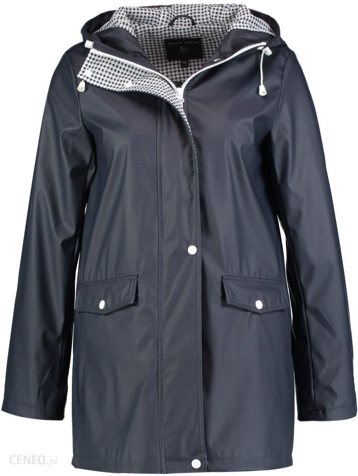 special discount of browse latest collections perfect quality Dorothy Perkins BUTTON FRONT RAINCOAT Parka navy - Ceny i opinie - Ceneo.pl
