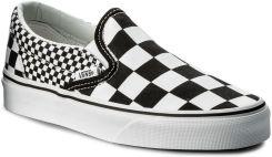 vans slip on checkerboard damskie