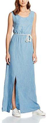 ff940d0d4c Amazon Hilfiger Denim damski sukienka drapey Long Dress dril - Jumper 42  (rozmiar producenta
