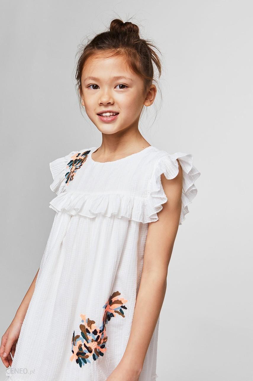 b155ed2fe4 Mango Kids - Sukienka dziecięca Clot 110-152 cm - Ceny i opinie ...
