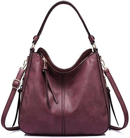 aaa692ecf5259 Amazon Torebki torebka damska skórzana torba na ramię torba z uszami  Designer kieszenie Hobo duże kieszenie