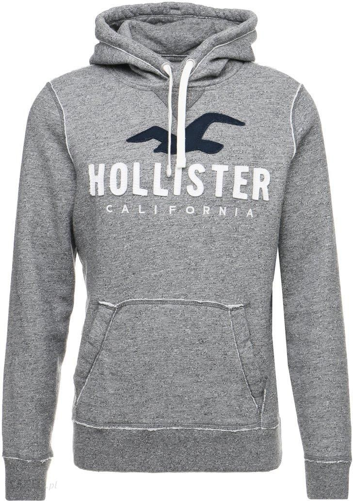 hollister co core tech logo bluza rozpinana