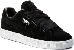 Sneakersy PUMA Suede Heart Valentine Jr 365135 02 Puma BlackPuma Black Ceny i opinie Ceneo.pl