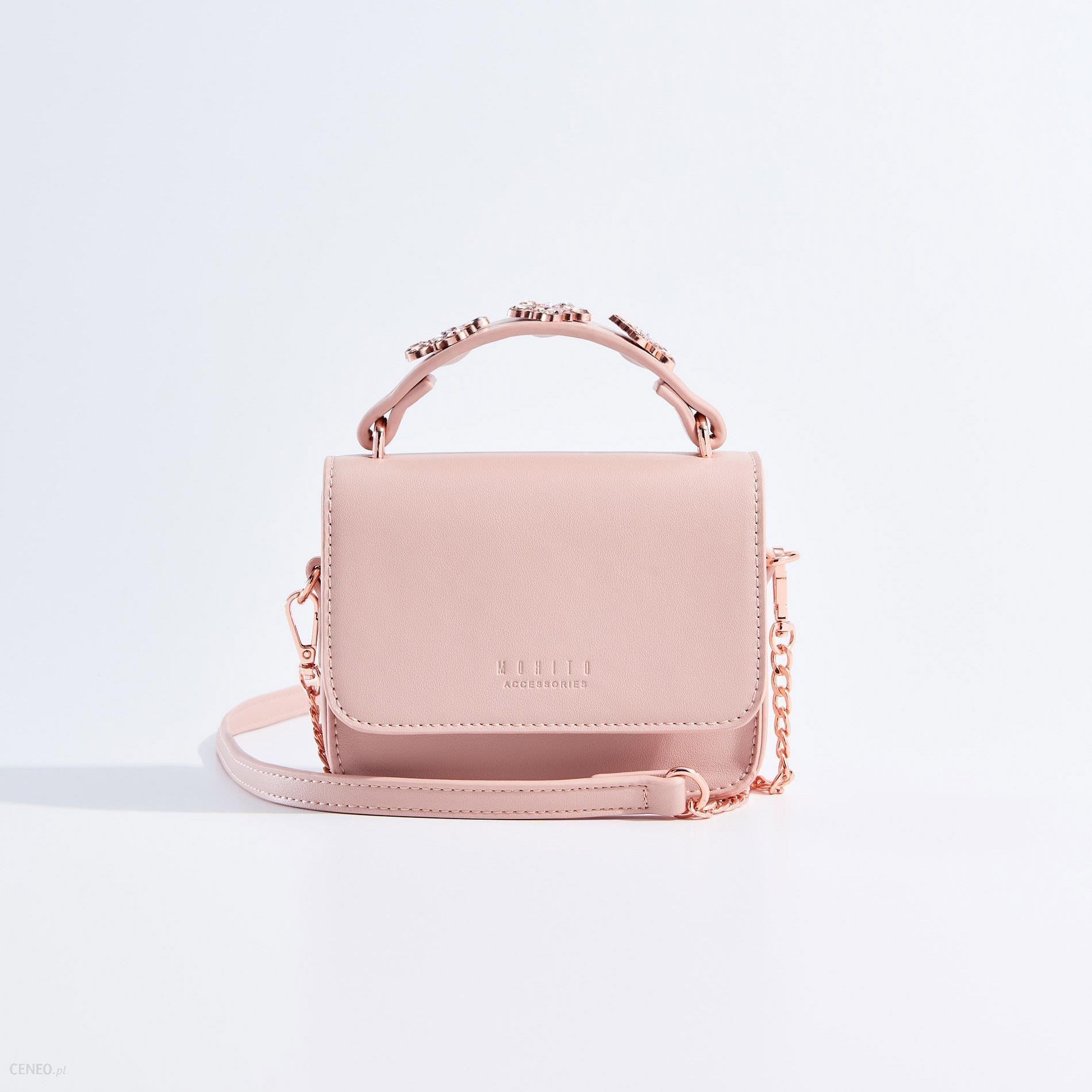 408cd1e1bb0e1 Mohito - Mini torebka dla dziewczynki little princess - Różowy - zdjęcie 1