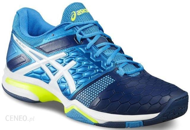 Asics Buty do squasha Gel Blast 7 blue jewelwhitesafety yellow E608Y4301 Ceny i opinie Ceneo.pl