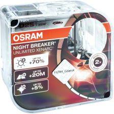 Osram night breaker unlimited xenarc d2s 35W Duo Box