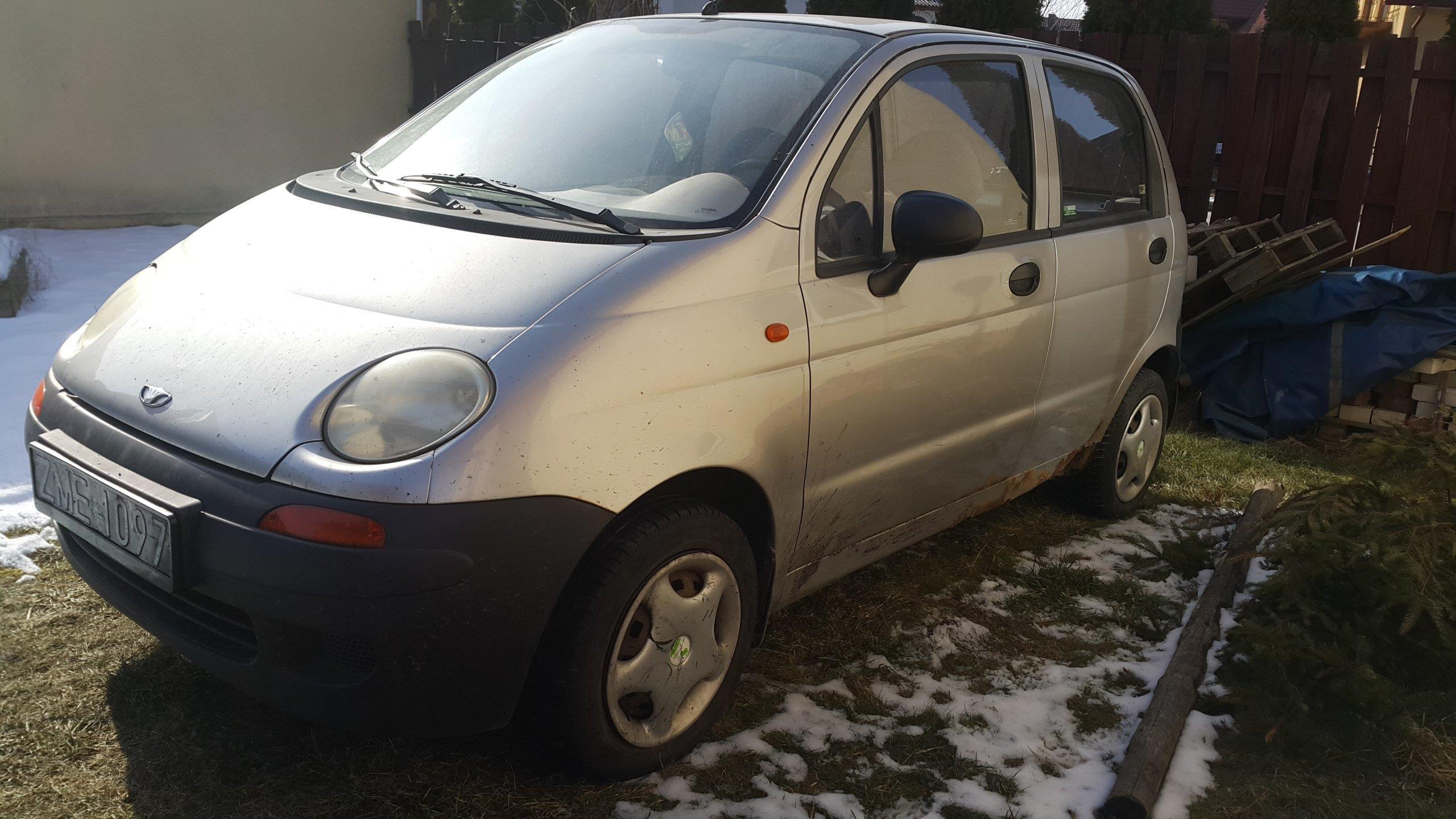 Daewoo Matiz 1999 Benzyna 56km Srebrny Opinie I Ceny Na Ceneopl