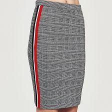 b9311d7a Sinsay - Ołówkowa spódnica z lampasami - Czerwony - Ceny i opinie - Ceneo.pl