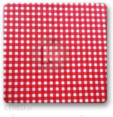 Kolorowa Kuchnia Poduszka Taboretowa Kwadratowa Krata Czerwona Ikea