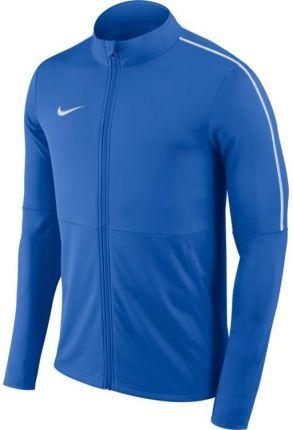 Bluza męska Nike Dry Park 18 Football czarna na zamek