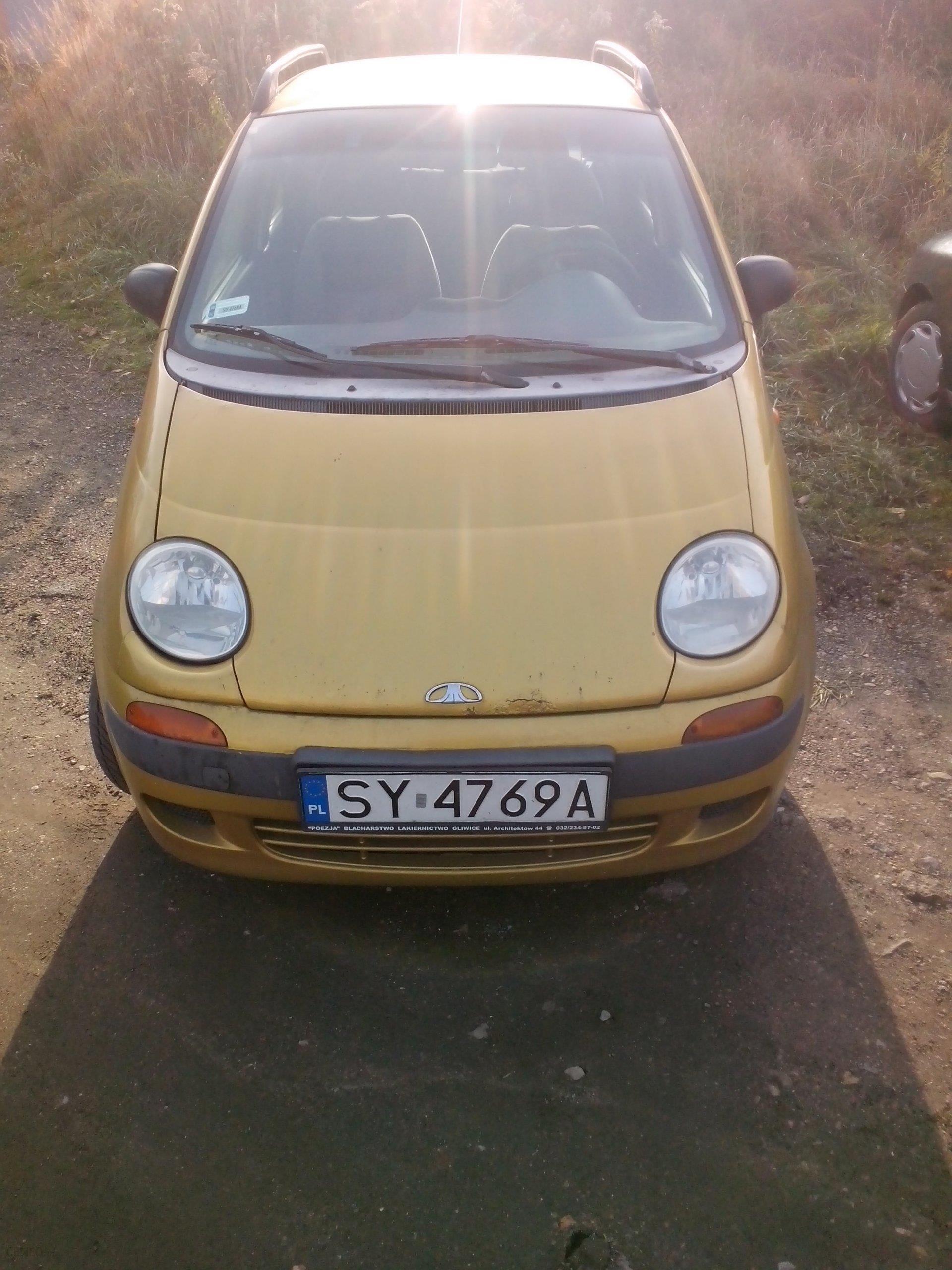 Daewoo Matiz 2000 Benzyna 51km Hatchback Złoty Opinie I Ceny Na