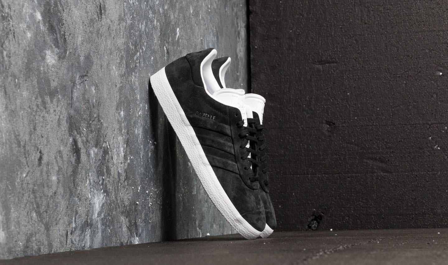 the best attitude 1fe54 356be adidas Gazelle Stitch And Turn Core Black Core Black Ftw White - zdjęcie 1
