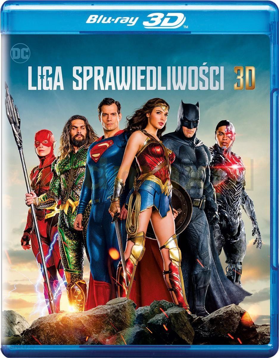 Liga Sprawiedliwości [Blu-Ray 3D]+[Blu-Ray]
