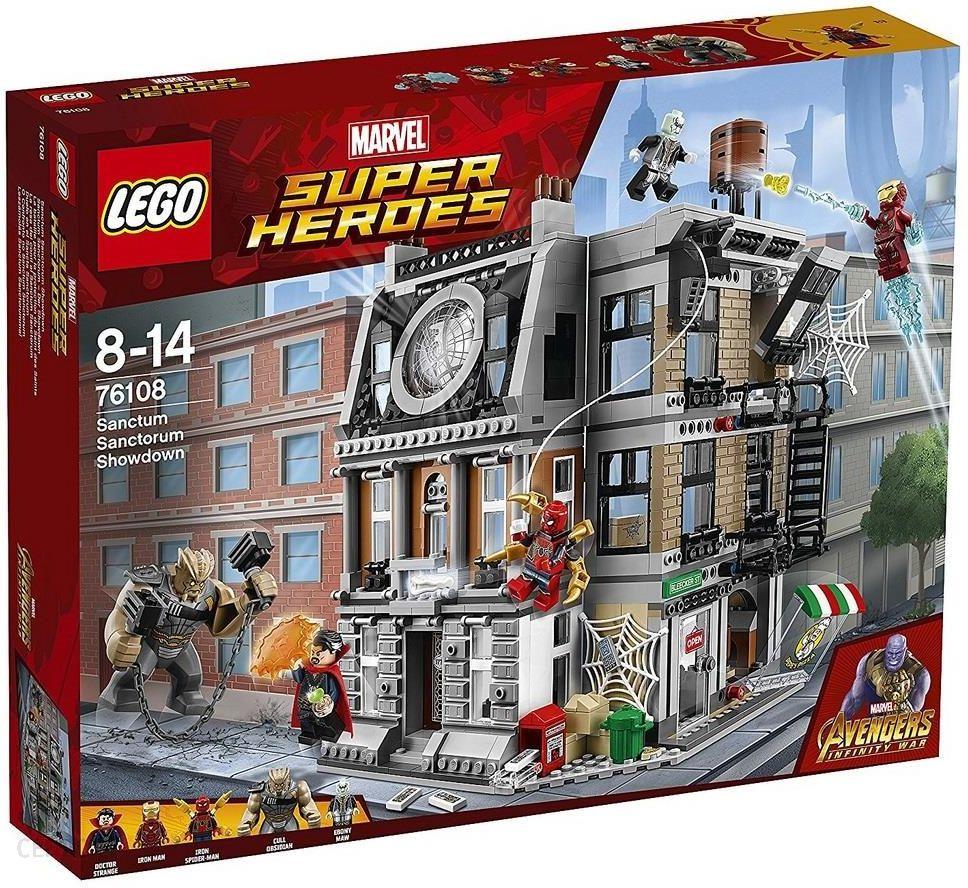 Klocki Lego Super Heroes Sanctum Sanctorum 76108 Ceny I Opinie