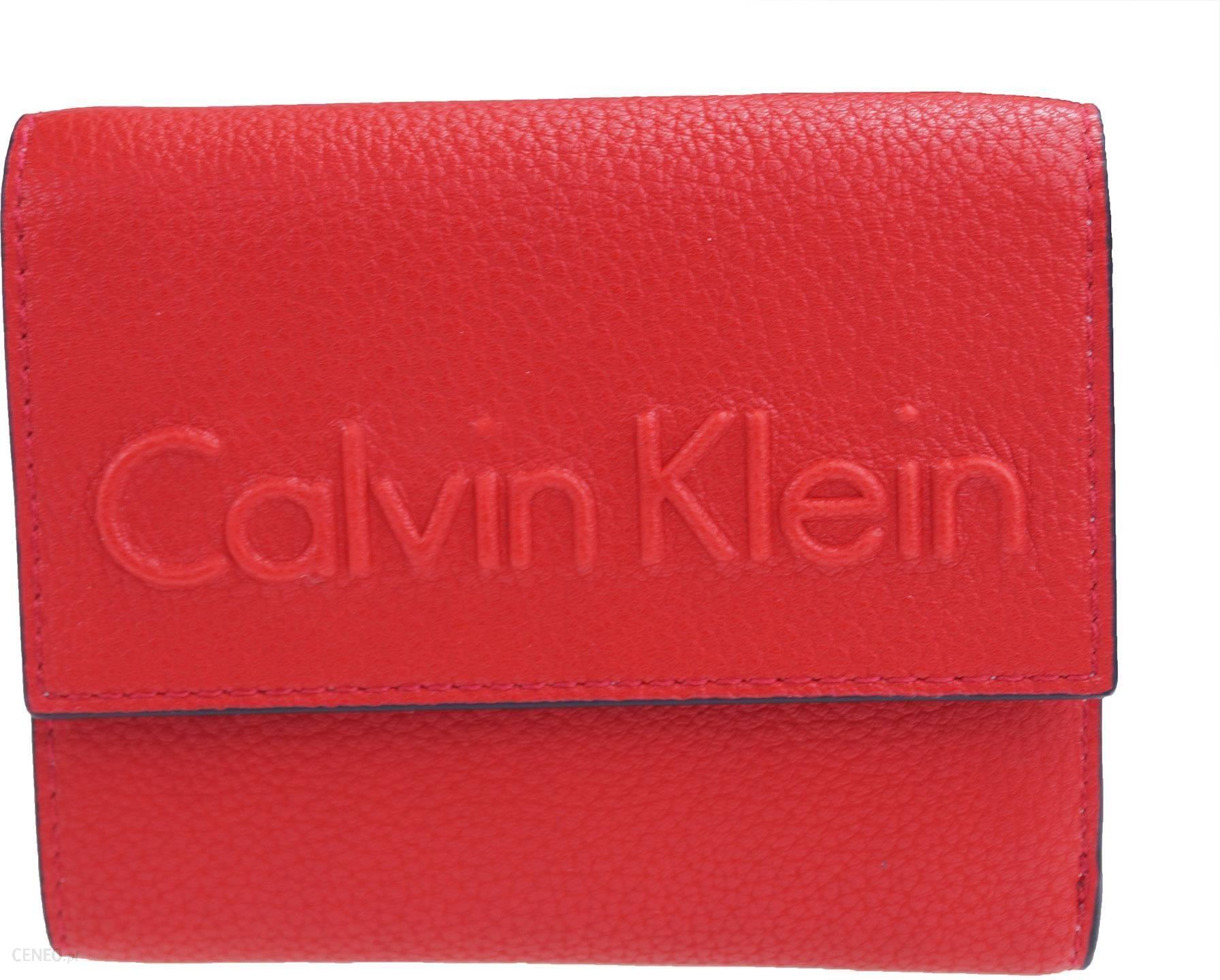 c55cfc9ab603d Portfel Calvin Klein Edge Medium Trifold - Ceny i opinie - Ceneo.pl
