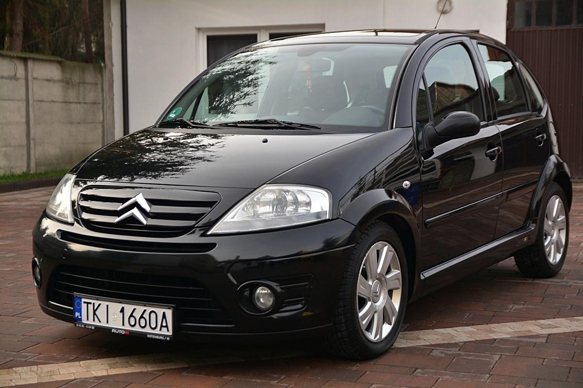 citroen c3 i 2006 diesel 110km hatchback czarny opinie i ceny na. Black Bedroom Furniture Sets. Home Design Ideas