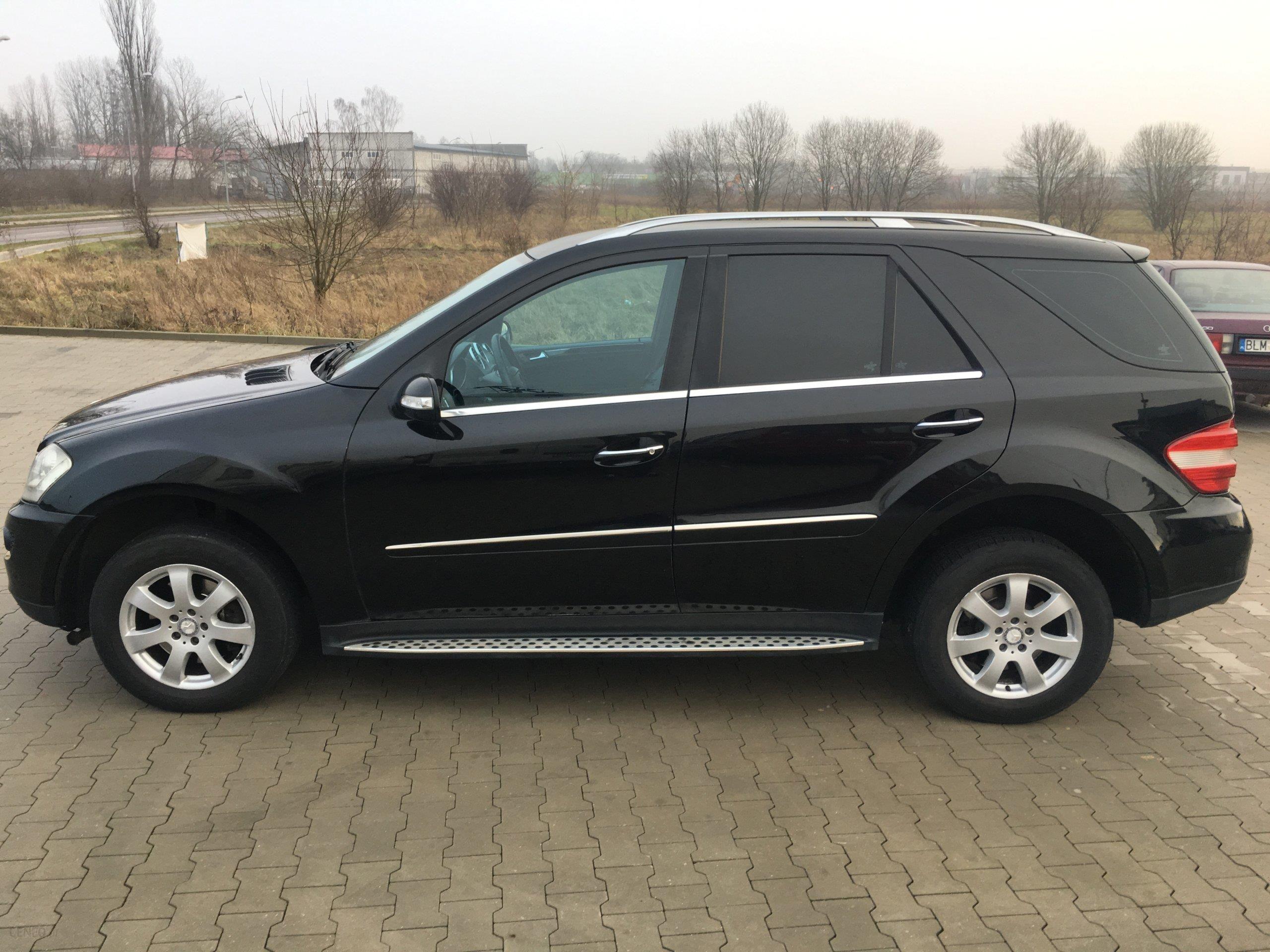 Mercedes Benz ML W164 2007 sel 211KM SUV czarny Opinie i ceny