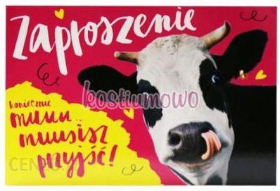 Zaproszenie Na Urodziny Krowa 10szt Ceny I Opinie Ceneopl