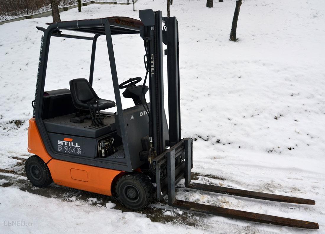 Ogromny Wózek Widłowy STILL R70-16 LPG Boczny Przesuw - Opinie i ceny na NP12