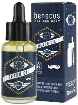 Benecos For Men Only olejek do pielęgnacji zarostu 30ml